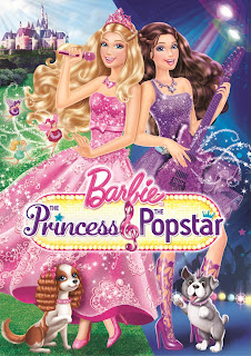 Barbie The Princess and The Popstar DVD Cover