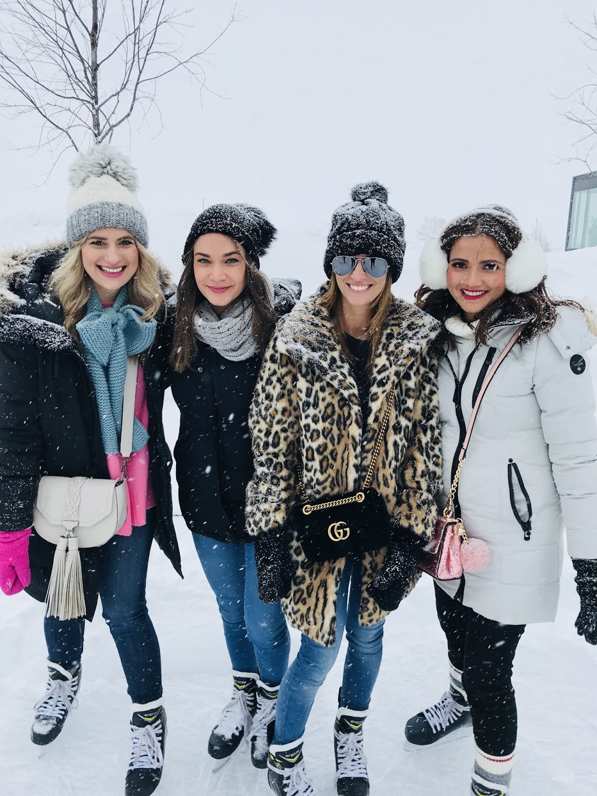 Bijuleni | How To Unwind at White Oaks Resort & Spa, Niagara on the Lake | Girls Weekend Getaway|, skating in style