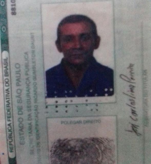 Funerária procura família de homem que morreu atropelado em Cacoal