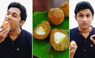Easy & Tasty Fried Egg Recipe   Fried Chutney Egg Bonda