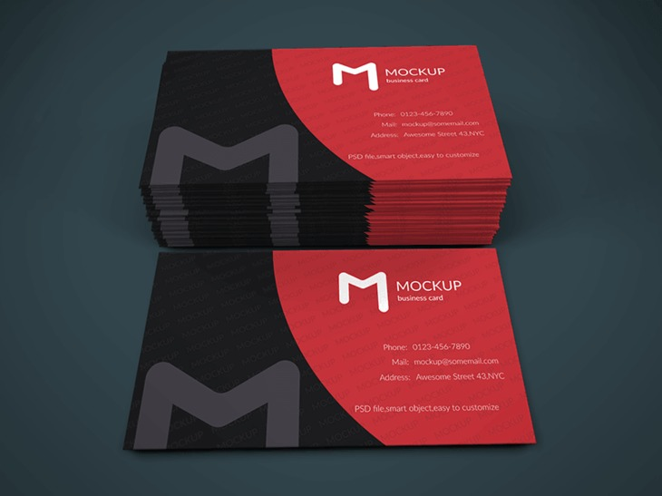 Modern Business Card Mock-up