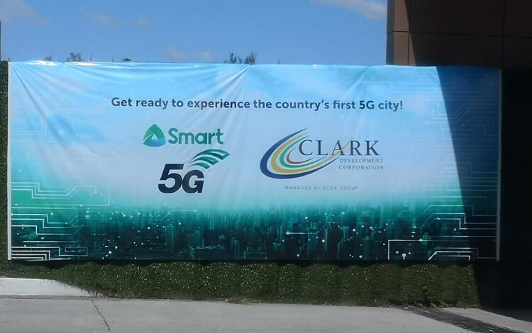 Smart Taps Clark as PH's First Smart 5G City