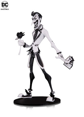 "DC Comics Artists Alley Hainanu ""Nooligan"" Saulque Black & White Variant Statues by DC Collectibles"