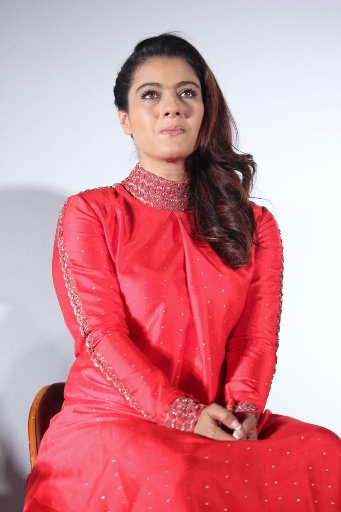 Kajol At Velaiilla Pattadhari 2 Tamil Movie Press Conference Photo Gallery