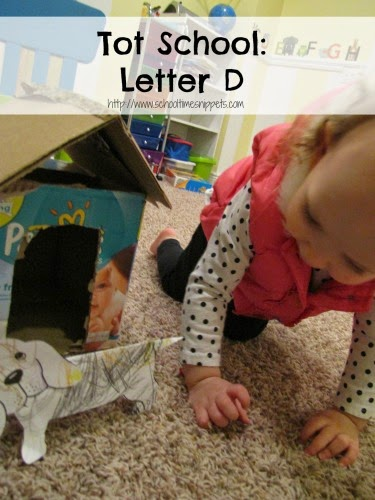 Letter D Toddler Activities