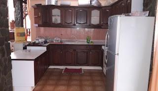 Ruangan Dapur Villa Gartik
