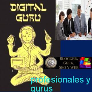 QUÉ SEPARA Y QUÉ NO AL PROFESIONAL DEL GURÚ EN LA WEB, LOS NEGOCIOS, EL MARKETING Y SOCIAL MEDIA?