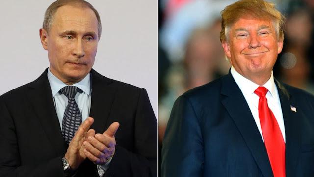 Vladimir Putin parece oferecer mais suporte ainda para Donald Trump - MichellHilton.com