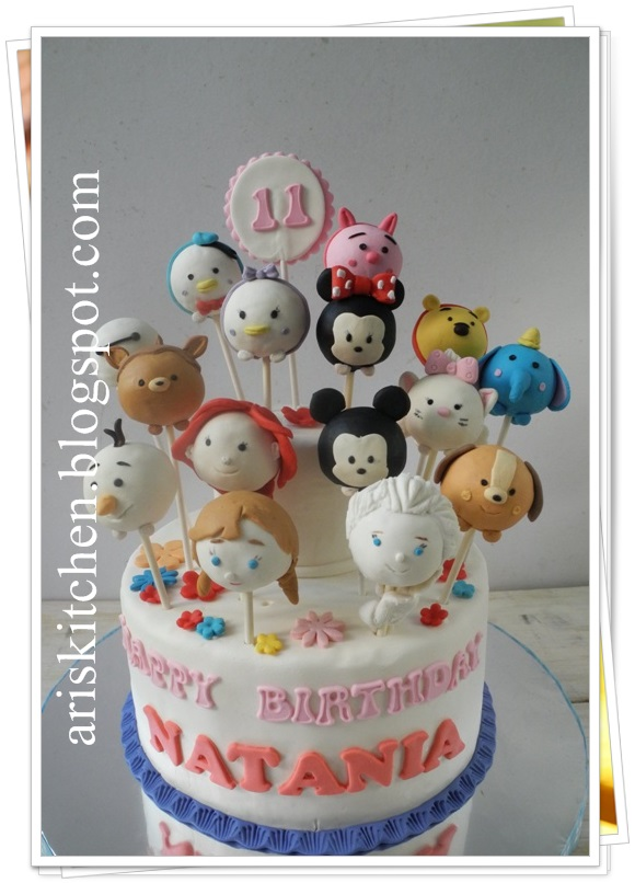 Crush Cake Pop Candy Birthday