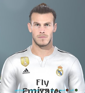 PES 2019 Faces Gareth Bale by Shenawy