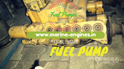 fuel pump, lube oil pump, injector, injecting pump, marine, boat, ship, used, second hand, motor, moteur, motori, spare parts, shipspare, sell, suppliers, stock, available,