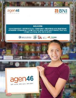 Agen BNI46, Agen Bank BNI, Laku Pandai, Layanan Keuangan Mitra BNI