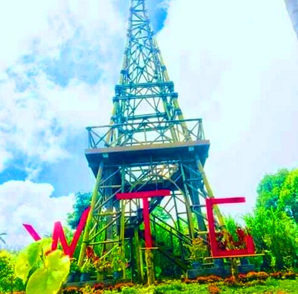 Wanagiri Tower Garden Keren Sangat Instagramable Untuk