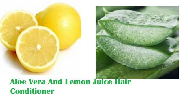 Aloe Vera And Lemon Juice Hair Conditioner