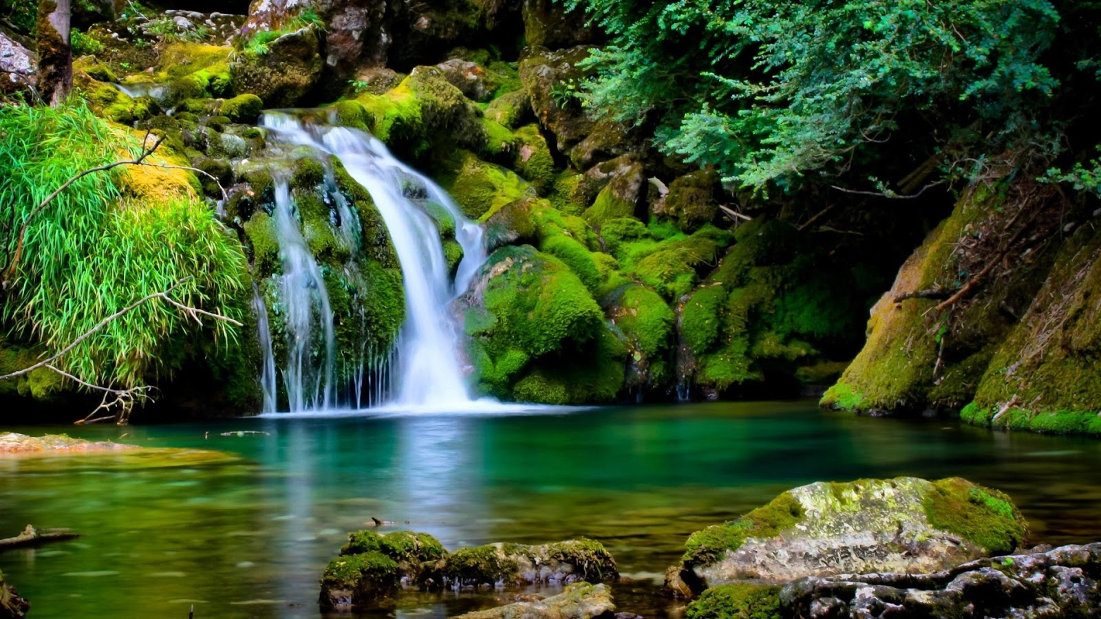 wallpaper peaceful flowing - photo #6
