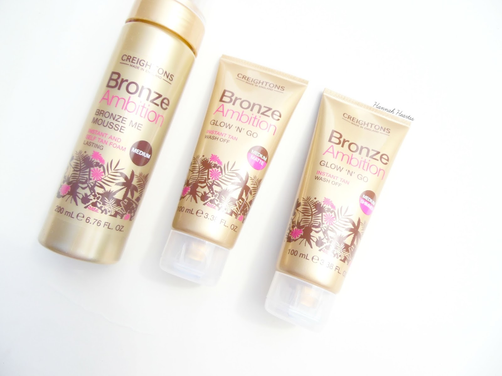 Bronze Ambition Tanning Mousse & Wash Off Tan