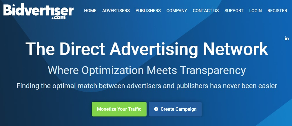Bidvertiser – Best PPC and CPC Ad Network