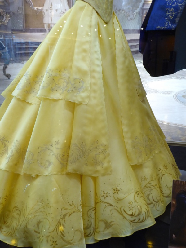 Beauty and the Beast Belle dress detail