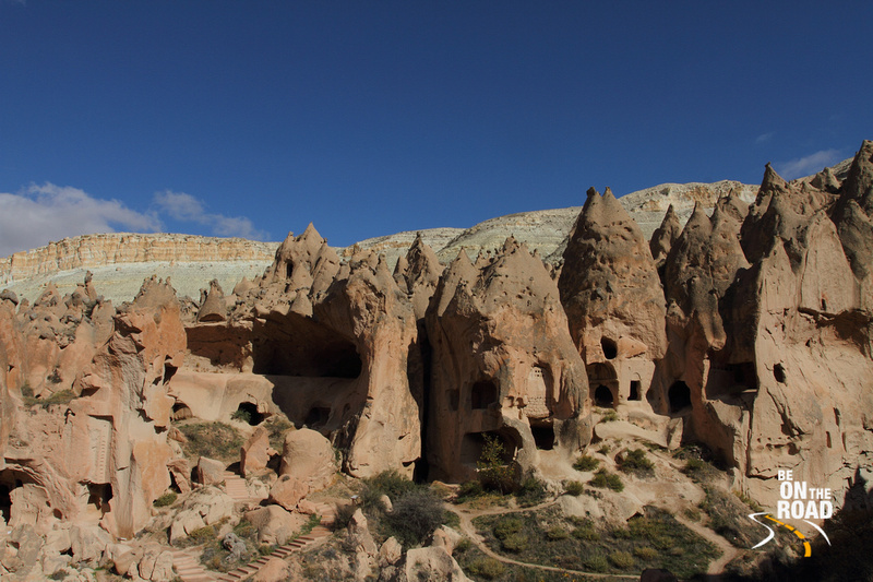 Stunning rock formations at Zelve Open Air Museum, Cappadocia