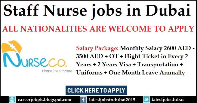 Nurse jobs in Dubai 2016