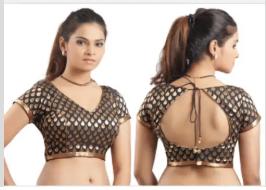 हैवी O गला ब्लाउज डिजाइन, भारतीय महिलाओं की पहली पसंद
