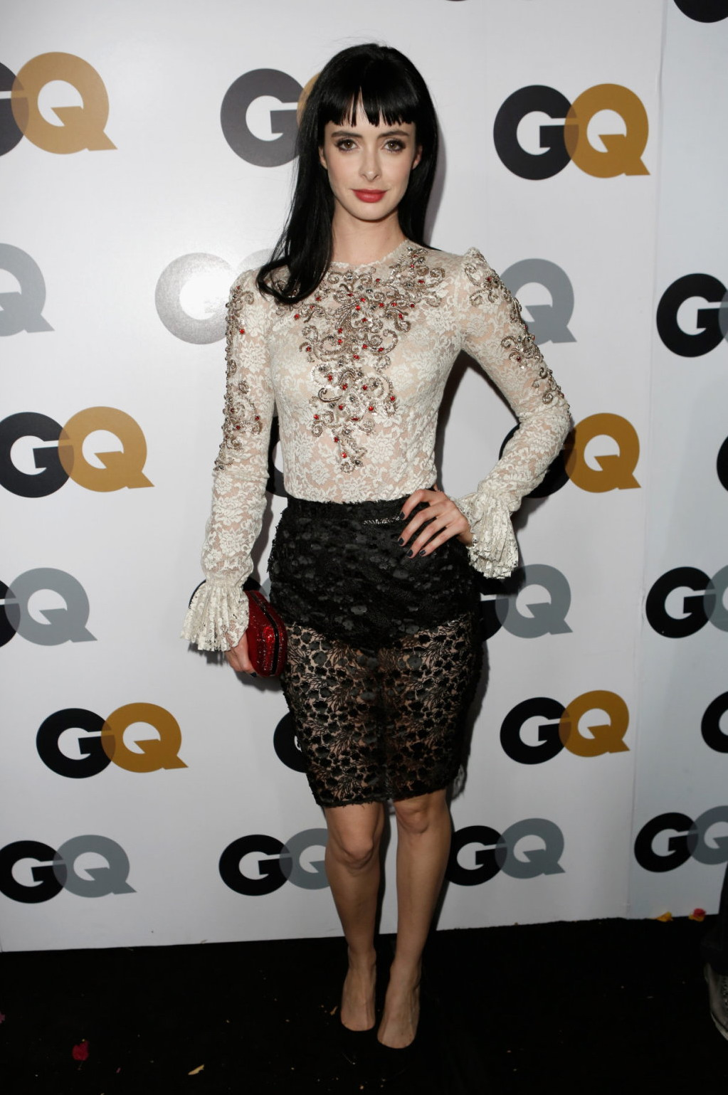 Krysten Ritter Cover: Krysten Ritter Hot Images GQ Men Of The Year Party In Los