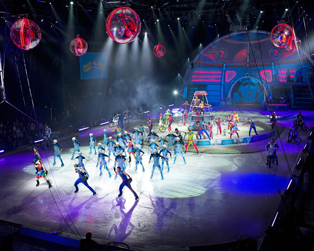 Ringling Bros and Barnum & Bailey circus - Out Of This World