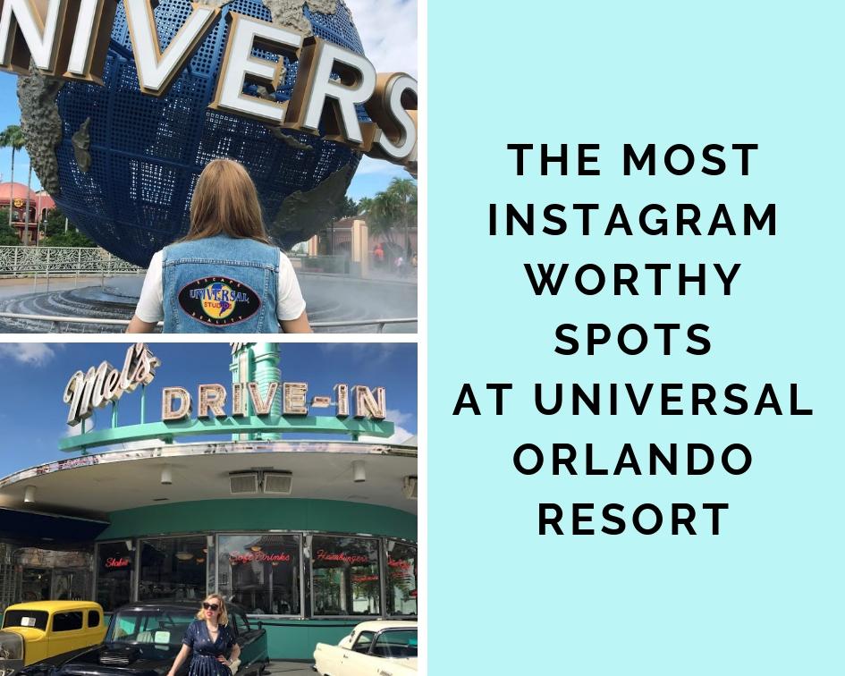 Instagram Spots in Universal Studios