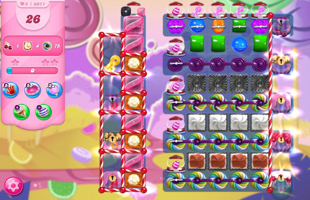 Candy Crush Saga level 6071