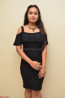 South Actress Amulya in short black dress at Kalamandir Foundation 7th anniversary Celebrations ~  Actress Galleries 024.JPG
