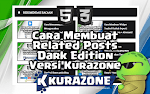 Cara Membuat Related Posts Dark Edition Versi Kurazone