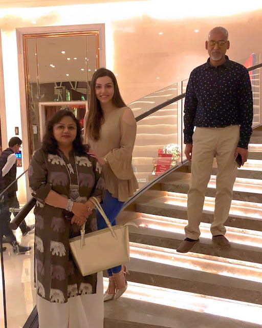 Kyra Dutt's father mother