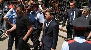 Banding Ditolak, Messi Tetap Divonis 21 Bulan Penjara
