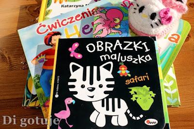 Książeczki dla dzieci mniejszych i tych trochę starszych