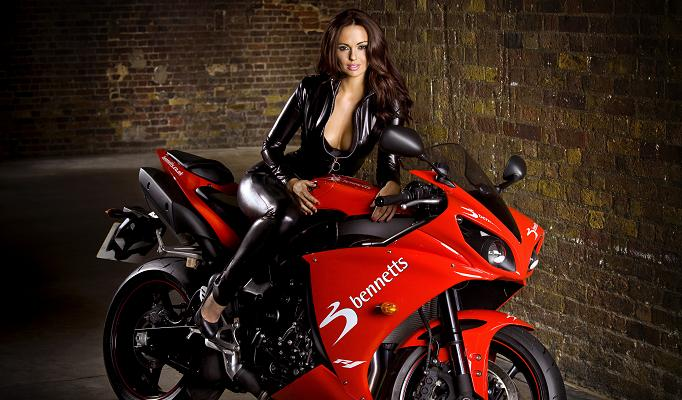 Motoblogn jennifer metcalfe bennetts babes motorcycle - Pictures of chicks on bikes ...
