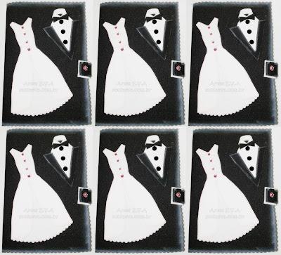 Convite de casamento em E.V.A