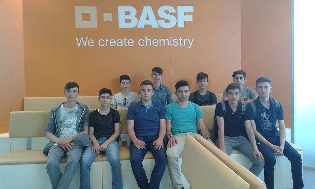 Harun İstenci Almanya'da Dünyanın en büyük Kimya devi BASF'da | Ludwigshafen, Renanya-Palatina, Almanya - Mayıs 2017