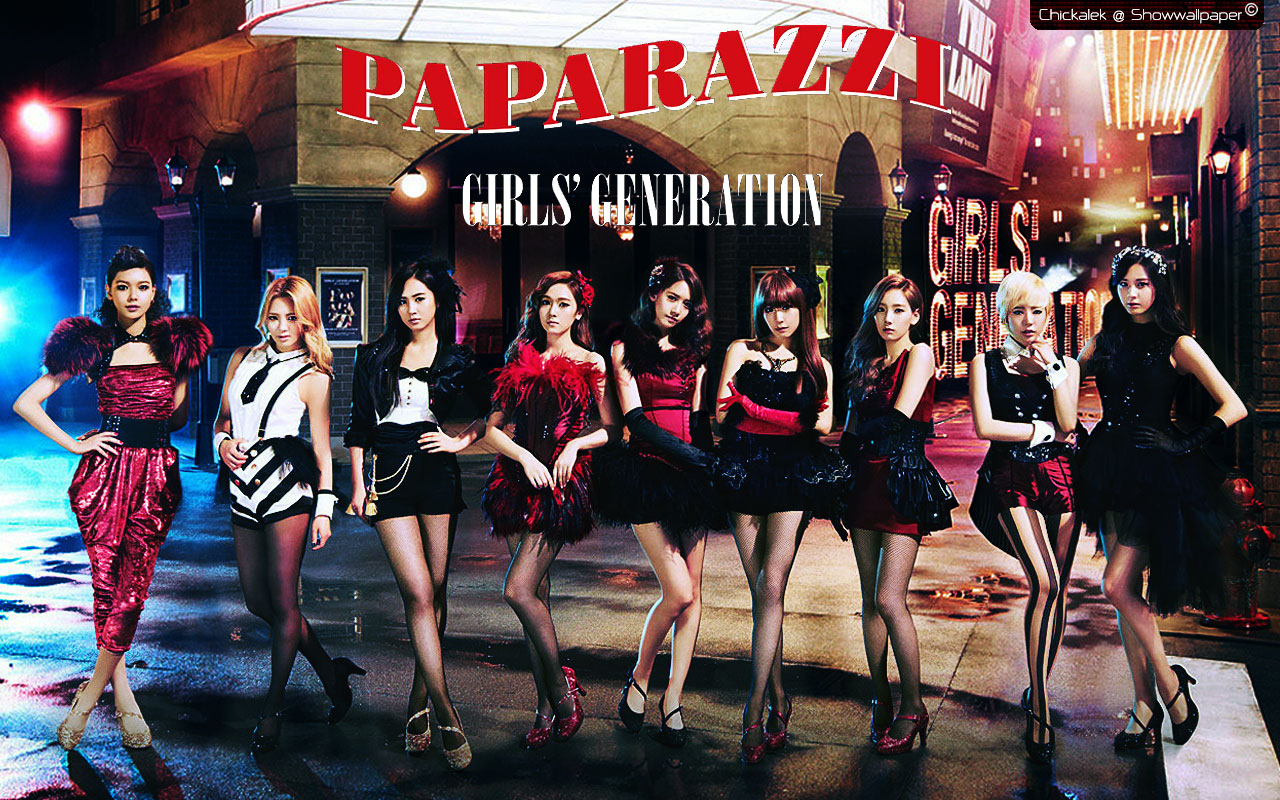 Girls\' Generation – Paparazzi