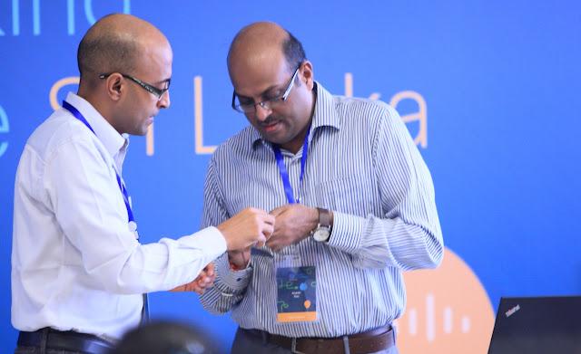 Mr.Murugan Vasudevan (SAARC Regional Manager) and Mr.Ananth Rao (APAC Technical Manager)