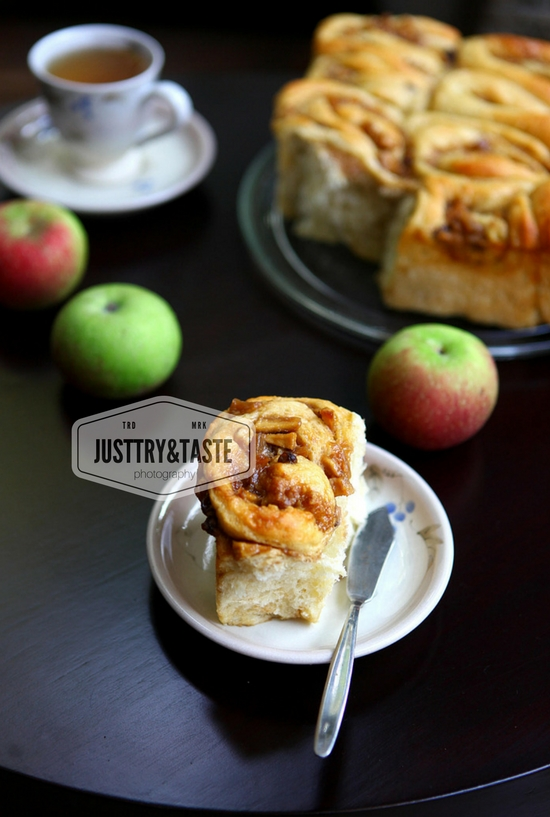 Resep Banana Apple Cinnamon Rolls