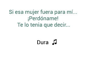 Daddy Yankee Dura  significado de la canción.