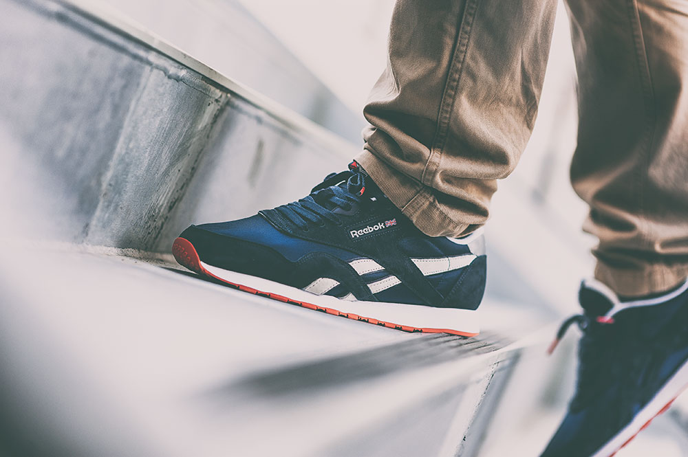 Jack Threads X Reebok Classic Nylon Sneakers By Tom Cunningham