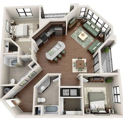 desain rumah unik modern