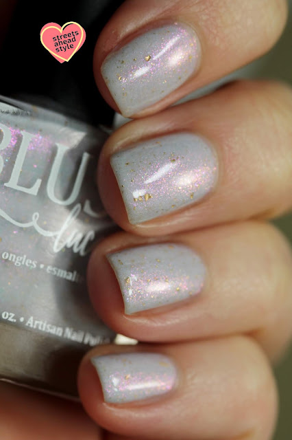 BLUSH Lacquers Silver Lining swatch by Streets Ahead Style