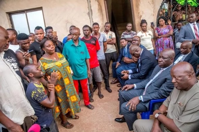 Godwin Obaseki Gives Family Of Slain Driver N10m