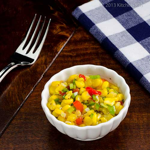 Quick Corn Relish