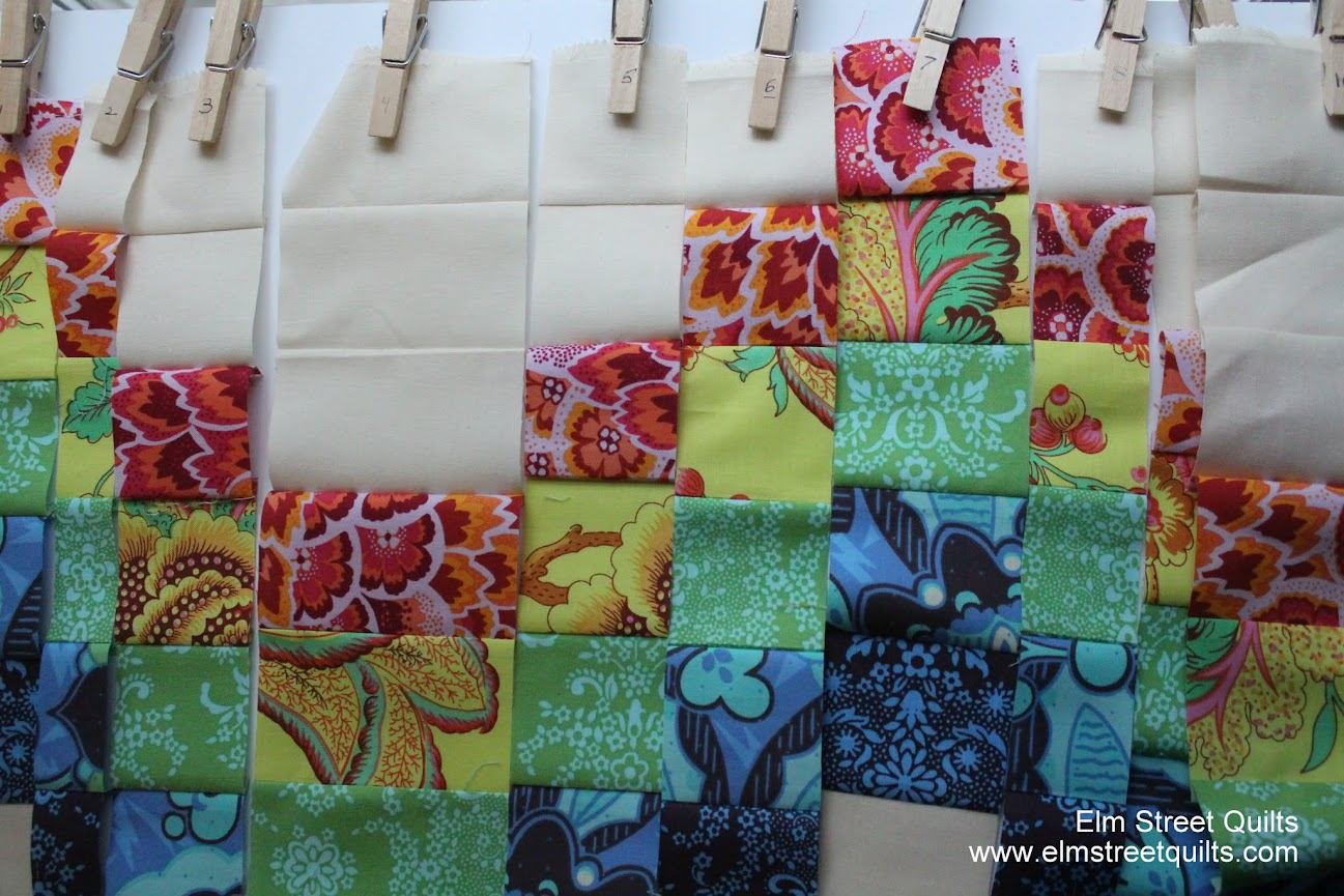 Tips for sewing a bargello