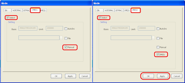 Cara write Imei intel dengan SNWTool V1.21.5