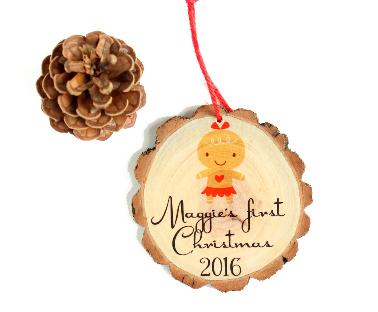 Baby's First Christmas Ornament - 2016 Baby's First Christmas