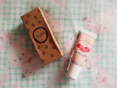 [REVIEW] Jar Of Beauty : Tinted Lipbalm - Red Butter Cookies